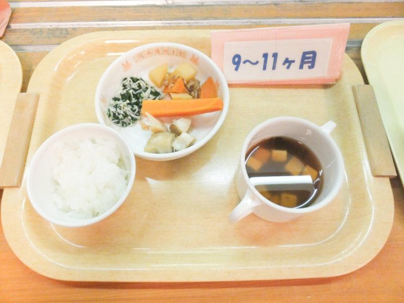 写真:9~11ヶ月の食事